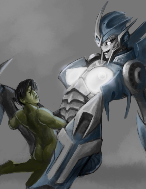 transformers prime fanfiction airachnid jack and Tomb raider fucked by a horse