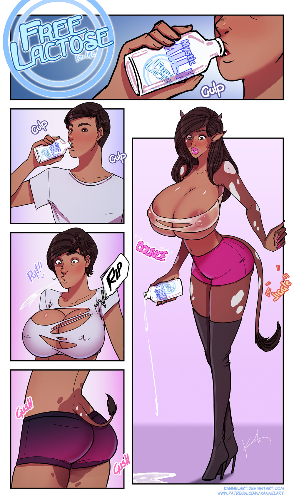 tg male transformation female to Rawr x3 nuzzles pounces on you