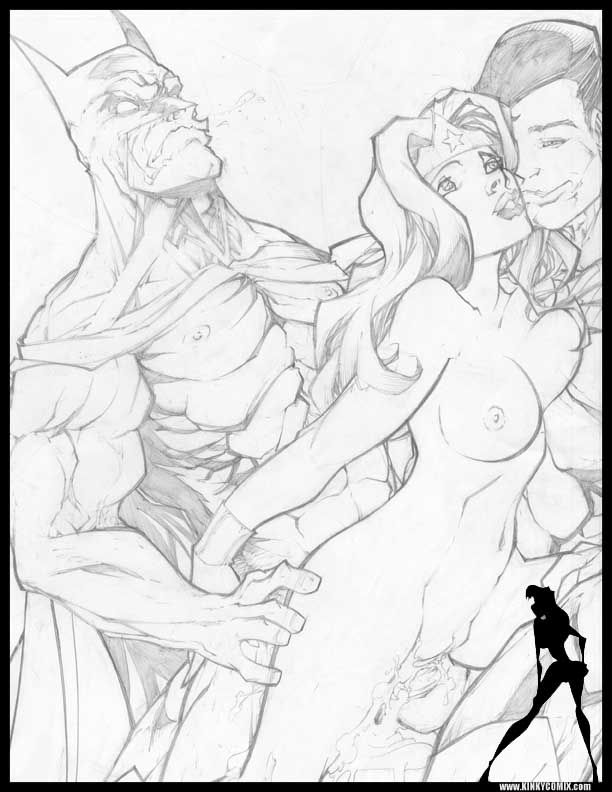 woman superman and xxx wonder V-ko trials in tainted space