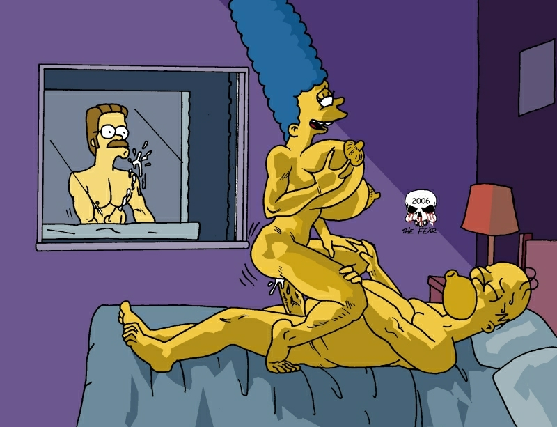 simpsons into the the multiverse Red vs blue tex nude