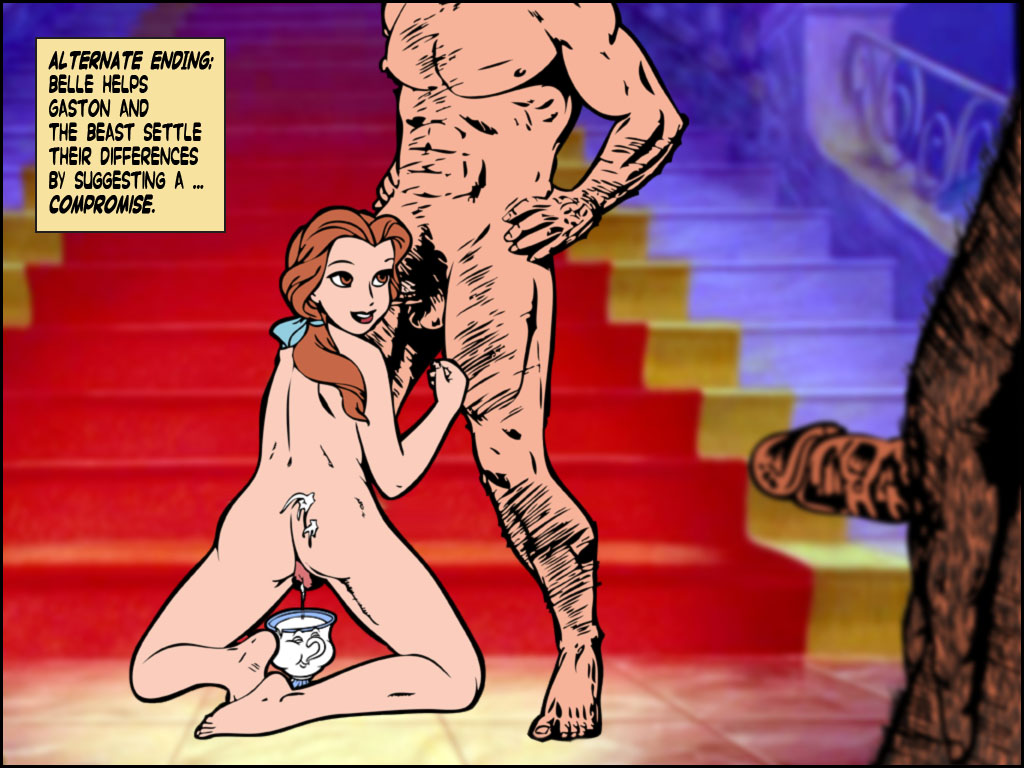 beast pregnant beauty belle and the Hikari o motomete the animation