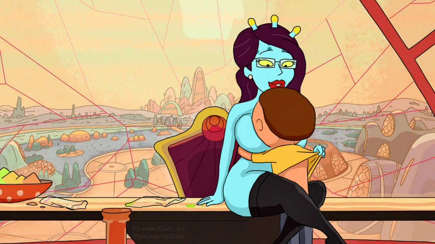 beth smith and morty rick F is for family sex