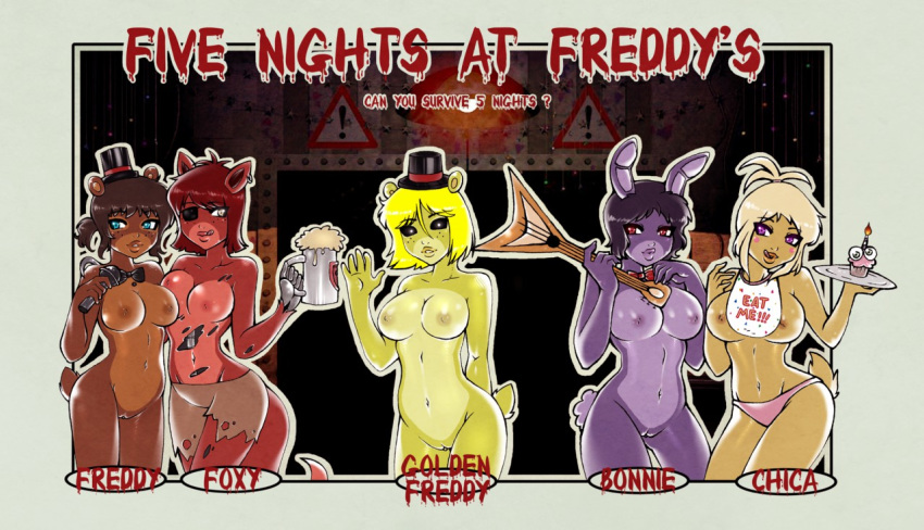 at freddy nights foxy five The person below me is hella gay