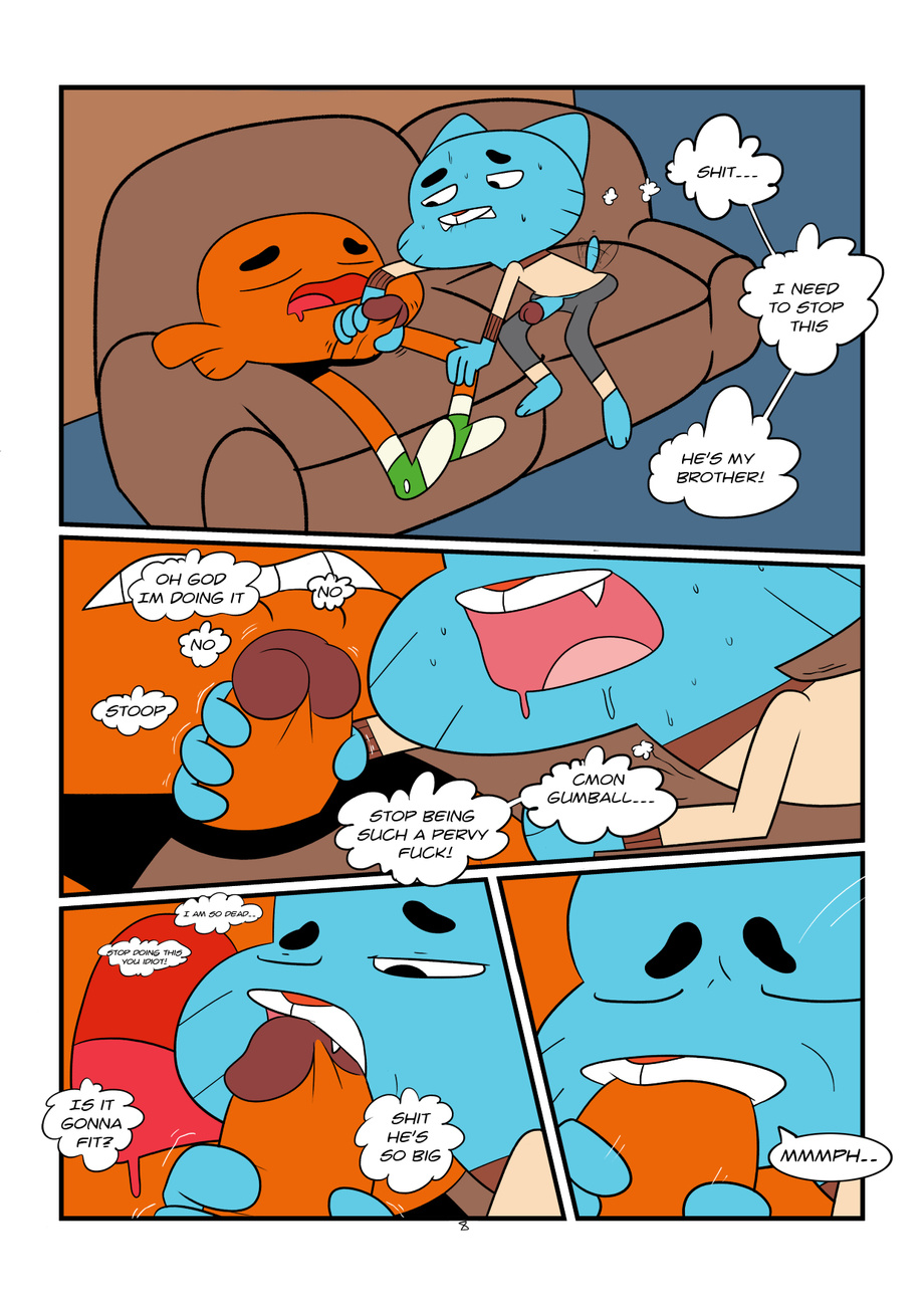 world of gay porn amazing the gumball comics The pebble and the penguin drake