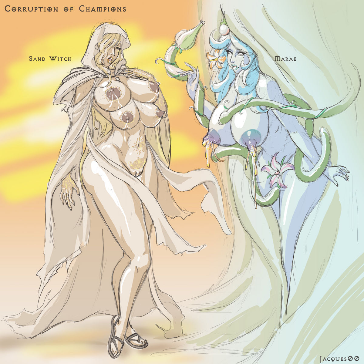 2 corruption cait champions of Tales of demons and gods xxx
